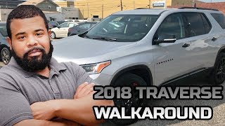 Overview 2018 Chevrolet Traverse Redline!