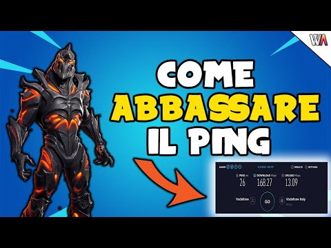 Come ABBASSARE IL PING Su PC Senza Programmi (es. Fortnite) - 2020