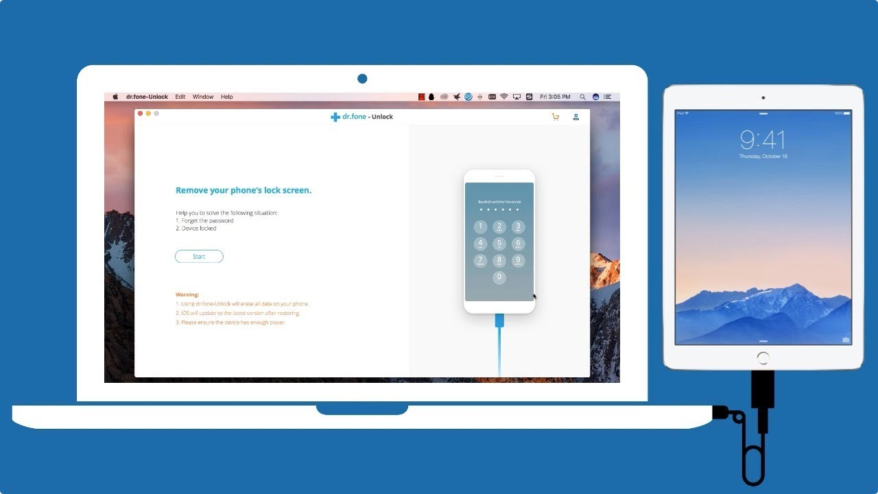 unlock ipad air 2 without passcode