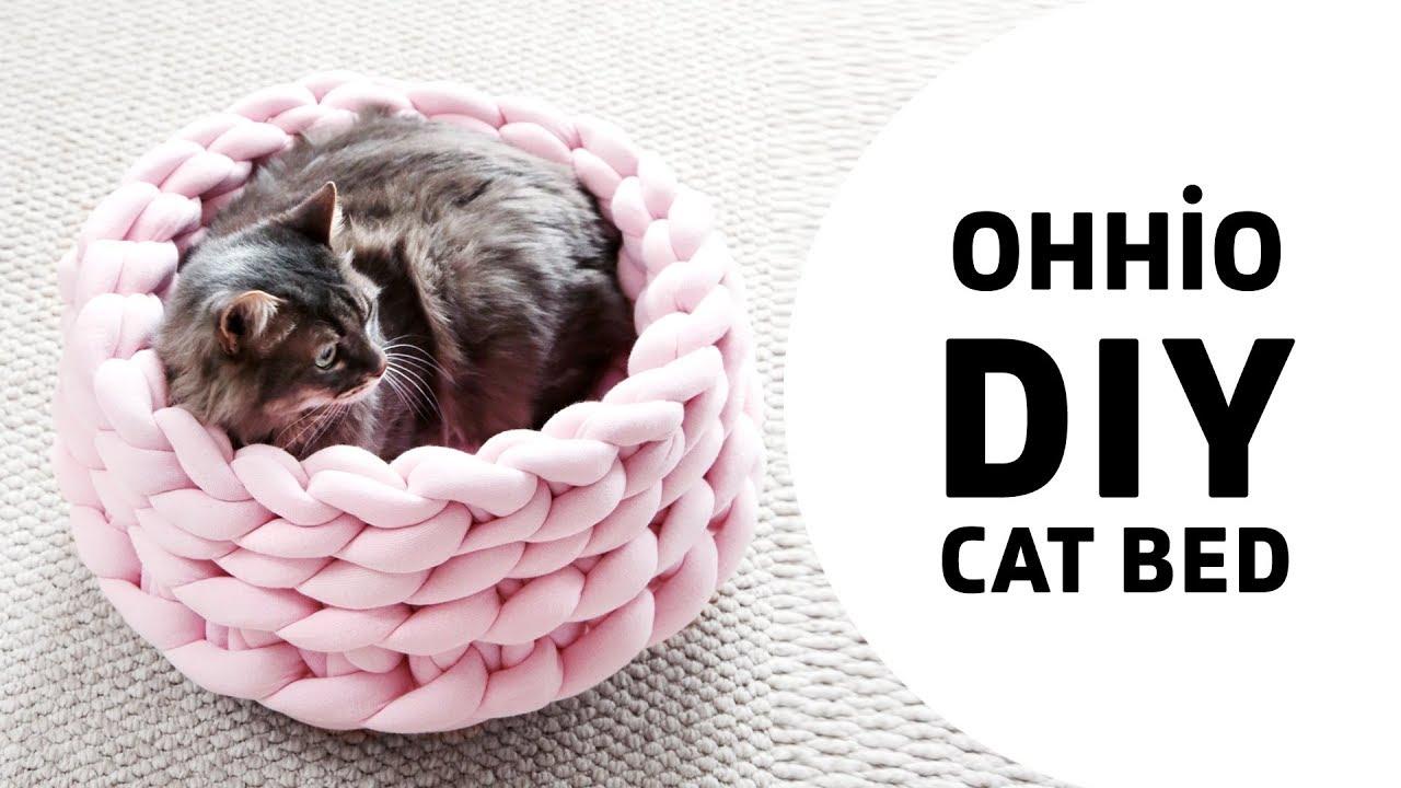 Crochet Cat Bed Tutorial   DIY Tag   720x1280