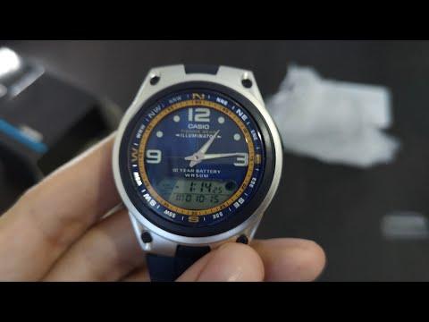 Casio Watch AW-82-2AV Fishing Gear Illuminator