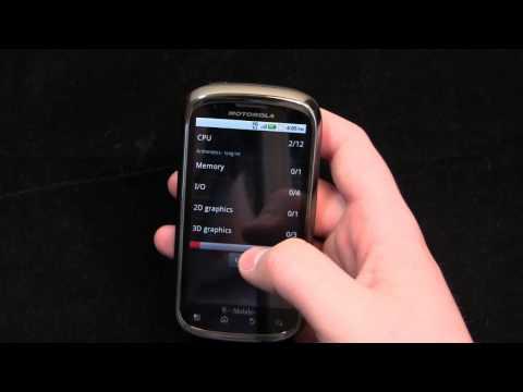 Motorola CLIQ Review Part 2