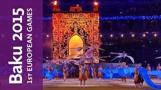 Highlights of the Closing Ceremony   Baku 2015 European Games