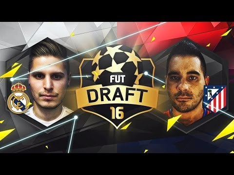 FUT DRAFT FINAL CHAMPIONS LEAGUE | REAL MADRID - ATLETI | VS PUMUS