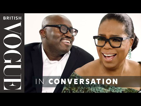 Edward Enninful Meets Oprah Winfrey | British Vogue