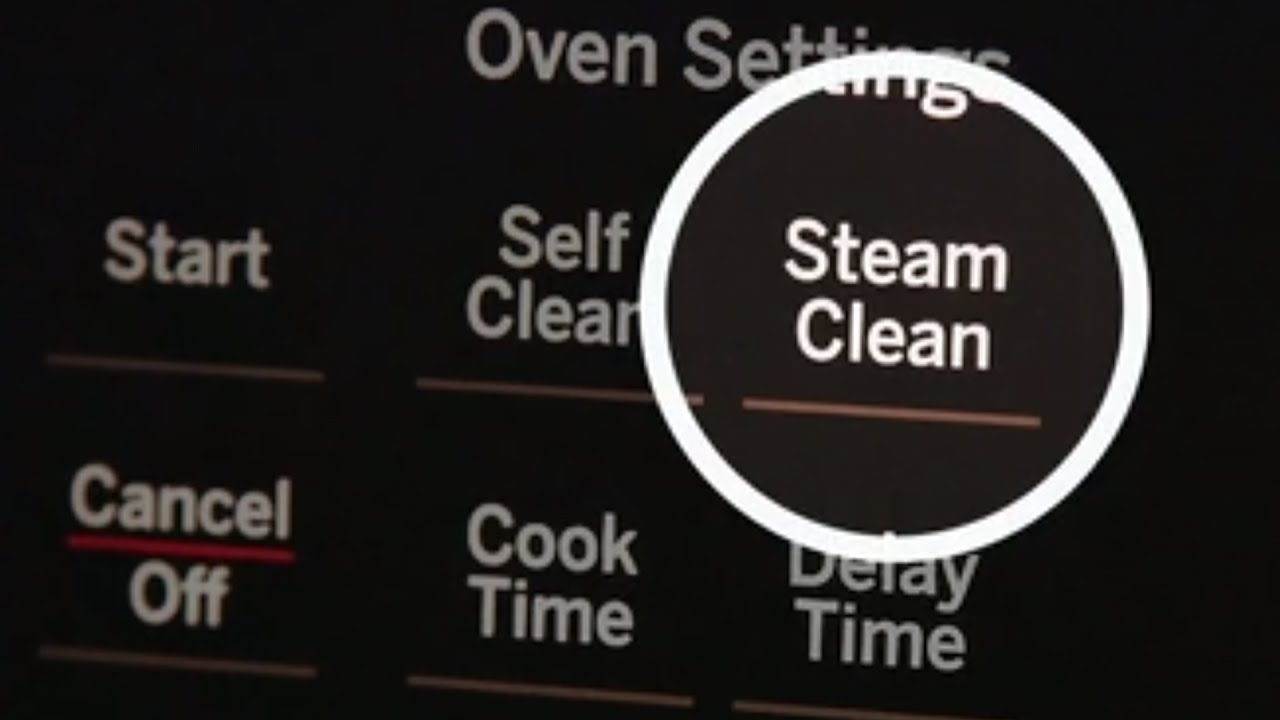 Steam Clean Your Range You