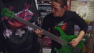 AUGURY 'Simian Cattle'  with Forest, bass player