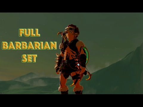 Zelda BotW - How To Get The Barbarian Set