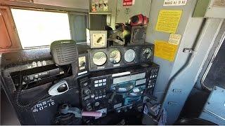 Tour Three GE Locomotives - U23B, B23-7 & B39-8E - Huntsville and Madison County Railroad