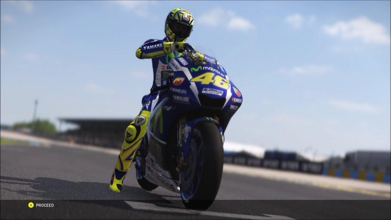 Yamaha YZR-M1 2016 - Valentino Rossi The Game - MotoGP 16 ...