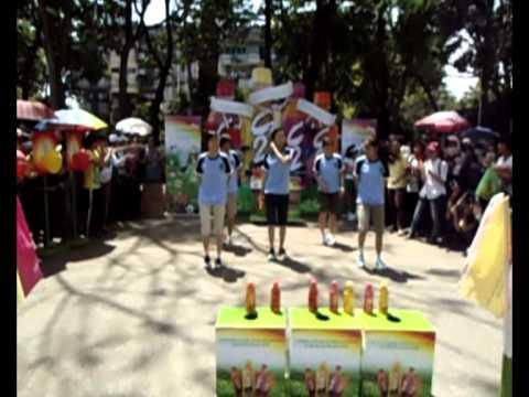 ĐH Nông Lâm --  5 nữ sinh nhảy Khúc Nhạc Vui cùng C2 cực dễ thương