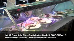 Oscartielle Glass Front Display: ON-LINE AUCTION, Schur Success Realty & Auction