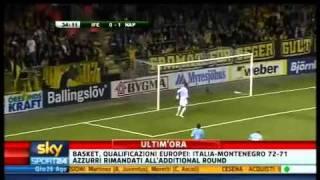 Elfsborg Napoli 0- 2 Europa League  26/08/2010