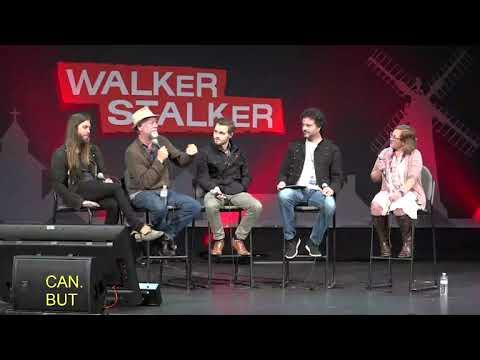 The Walking Dead : Tom Payne, Xander Berkeley, & Callan McAuliffe 2018 Atlanta