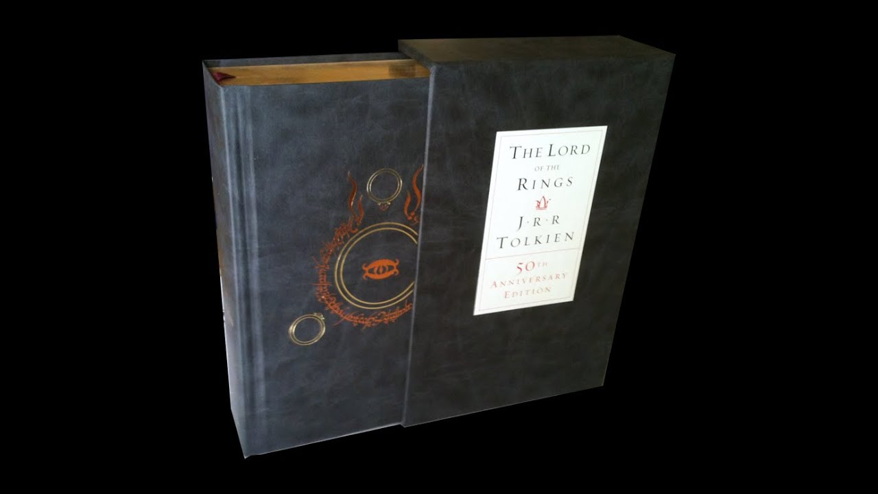lord rings 50th anniversary edition