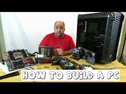 How to build a PC inside of a Cougar Panzer PC Case 1 of 3