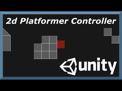 Demonstrating 2D Platformer Controller Package for Unity - Free in Asset Store with Follow Camera