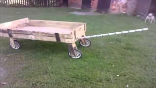 Budowa przyczepki do rowera.