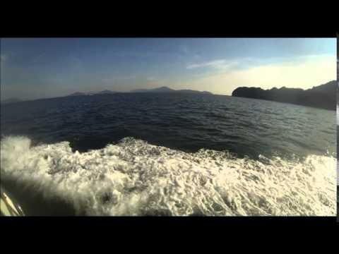 Setonaikai National Park Manabe-jima island to Tadotsu (眞鍋島 笠岡諸島ー多度津 香川)
