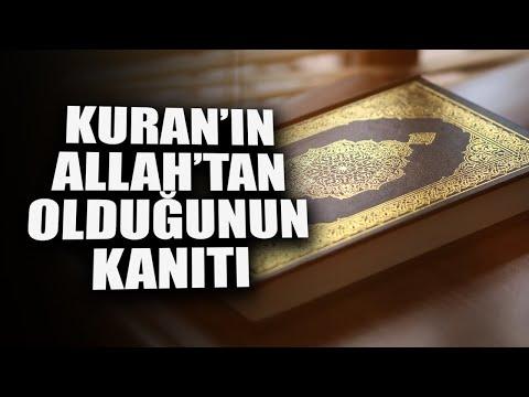Kuran'ı Allah'ın Gönderdiğinin...