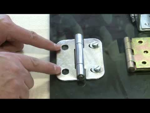 Learn About Different Types Of Hinges Youtube