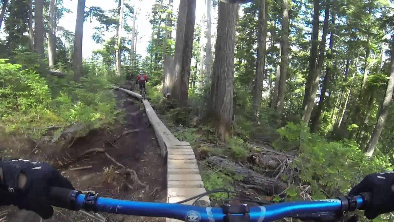 Whistler BC, Downhill Mountain Biking - July 2014 - YouTube