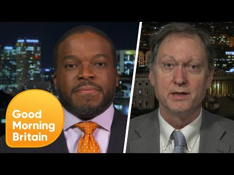 Gun Control Debate Erupts Into a Heated Argument | Good Morning Britain
