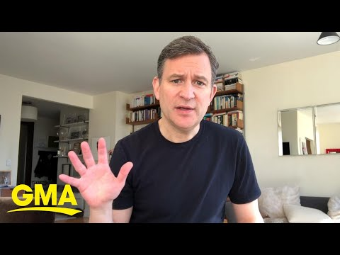 Dan Harris does these five things daily to protect his mental health l GMA Digital