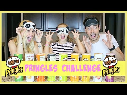 PRINGLES CHALLENGE | FAMILIA CARAMELUCHI