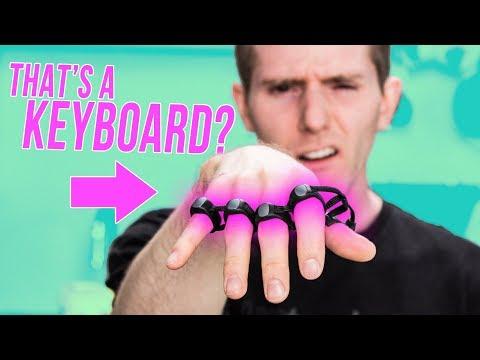 CRAZY Keyboard You WEAR! - TAP Wearable Keyboard & Mouse