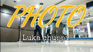 Luka Chuppi : photo song | Hip-hop Dance choreography| Timelapse | one shot | Kartik Aryan, Kriti