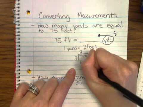 Converting Measurements