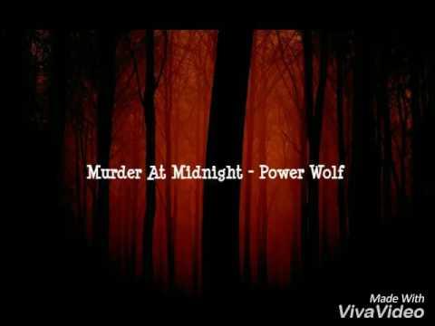 Murder At Midnight - PowerWolf lyrics