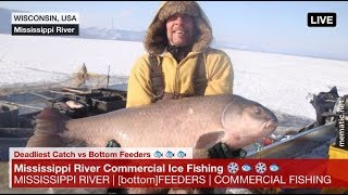 "Mississippi Commercial Ice Fishing where ""Bottom Feeders"" meets ""Deadliest Catch"""