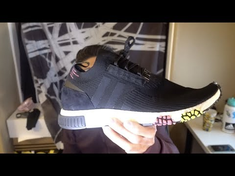 251889174bb Adidas NMD Racer Primeknit Quick Review + SIZING! - YouTube