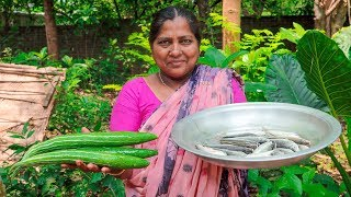 Snake Gourd & Carp Fish Village Cooking Recipe by Village Food Life
