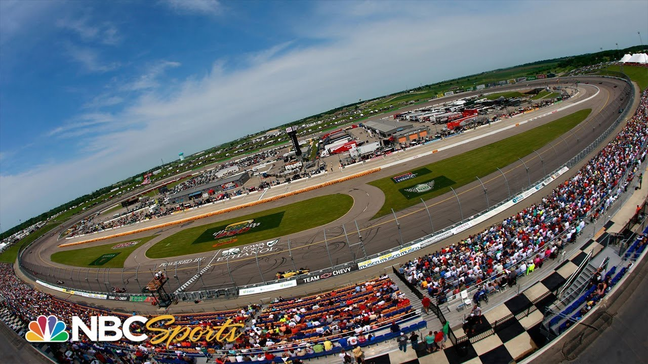 What challenges will IndyCar drivers face at Iowa Speedway?   Motorsports on NBC