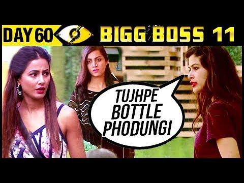 Bandgi Gets VIOLENT With Hina & Arshi | Bigg Boss 11Day 60 |  30th November 2017 Episode Update