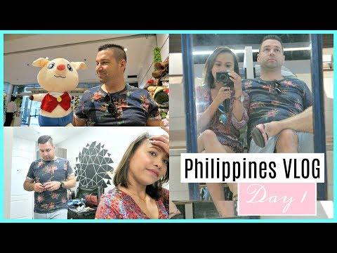 PHILIPPINES VLOG DAY 1 | LANDMARK SHOPPING + BUFFET KAINAN + GIVEAWAY! ❤️ | rhazevlogs