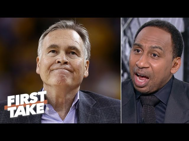 Mike D'Antoni is in a 'world of trouble,' could be fired by the Rockets - Stephen A. | First Take