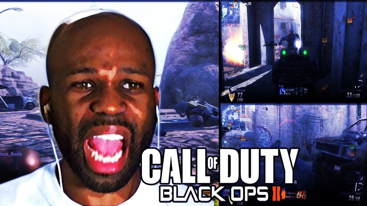 SNIPERS MADE ME PUNCH A TABLE - BLACK OPS 2 RAGE (Watch Me Rage) | xChaseMoney
