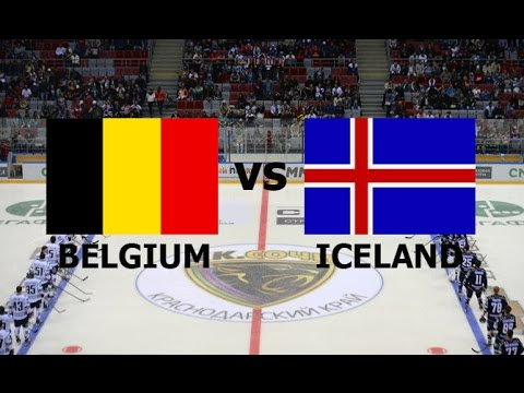2016 ICE HOCKEY WORLD CHAMPIONSHIP Division II Group A BELGIUM vs ICELAND