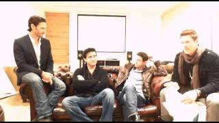 Il Divo - Ustream - 2013.10.17 answering questions from fans