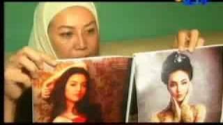 Model Indonesia Dianiaya Suami di Malaysia