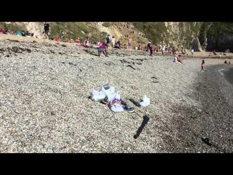 Durdle Door Beach Swimming