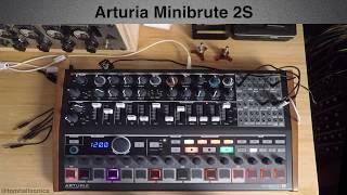 Arturia Minibrute 2S - MB2S Short Demo