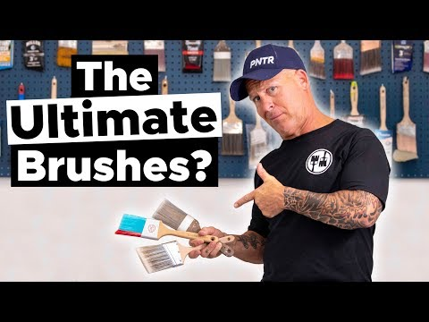 3 Paint Brushes TESTED And Reviewed.  DON'T BUY THIS BRUSH!!!