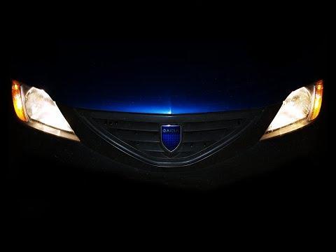 Замена ламп габаритов. T10 w5w. Dacia Logan