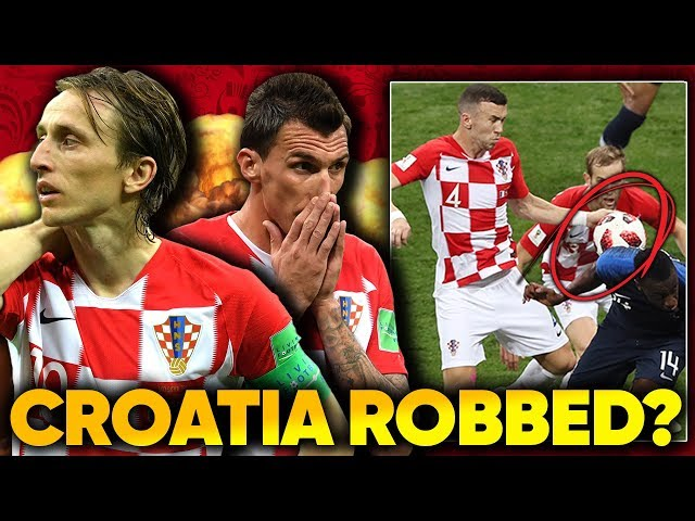 Were Croatia CHEATED In The World Cup Final?!   #WorldCupReview