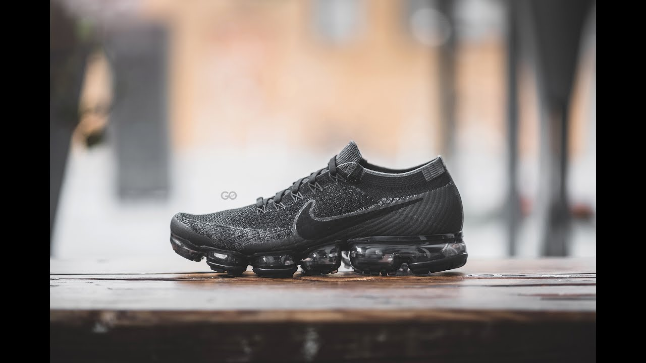 Nike Vapormax Black And Grey